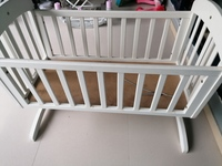 Used Baby cot with rocker in Dubai, UAE