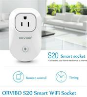 ORVIBO WiWo-S20 Wi-Fi Smart Home Remote Control Timing Timer Socket Power Plug Switch