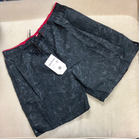 Used Men's Swim Wear/ Black Short XXL  in Dubai, UAE