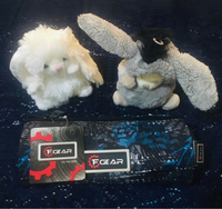 Used FGEAR pencil pouch for kids + 2 soft toy in Dubai, UAE