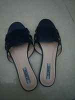 Ladies slipon blue