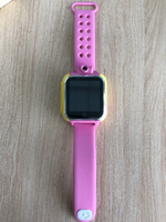 GPS tracker smart watch - pink