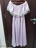 Used Off Shoulder Pink Dress Size US Small in Dubai, UAE