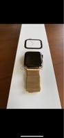 Used Apple watch series 5 gold 44 mm new in Dubai, UAE