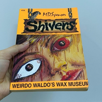 Used New Unused book- Shivers in Dubai, UAE