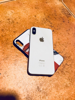 Used iPhone X 64GB Silver Perfect conditions  in Dubai, UAE