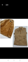 Used Slim warm jacket brown size Large. in Dubai, UAE