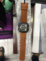 Sevenfriday watch brown strap