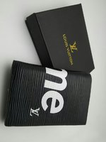 Used LV men's wallet supreme edition black in Dubai, UAE