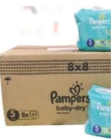 Used Pampers size 5 pants 64 pieces in Dubai, UAE