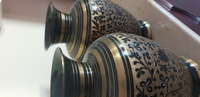 Used Brass vases at cheap price in Dubai, UAE