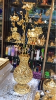 Used Metallic gold flower  in Dubai, UAE