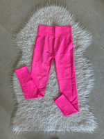 Used Neon pink sport leggings size XS in Dubai, UAE