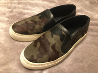 Used Zara Green Khaki Slip-Ons  in Dubai, UAE
