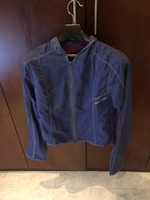 Used Armani jeans blue jacket. Small  in Dubai, UAE