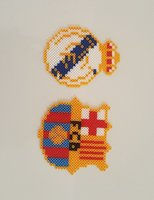 Real Madrid and Barcelona magnets
