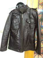 Used Slim leathers jacket  in Dubai, UAE