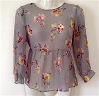 Used Zara Chiffon Blouse size S in Dubai, UAE