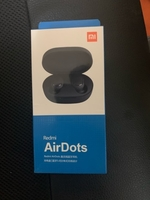 Redmi airdots with high bass black color