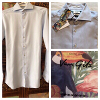 Used Van Gils shirt Ellington skin cut 37/5 in Dubai, UAE