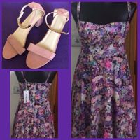 Used Prime Days Mini Dress & Pink Heels in Dubai, UAE