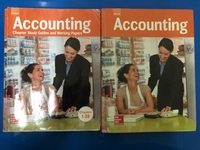 Used Accounting McGraw (student + workbook)  in Dubai, UAE