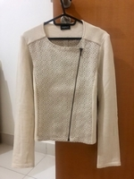 Used White zip jacket in Dubai, UAE