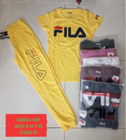 Used Fila T-shirt &Trouser 6pcs Large in Dubai, UAE
