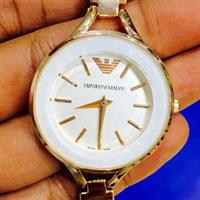 Armani Ladies Brand New Watch Replica Rose Gold Good Quality Master Copy ...Hurry!!!