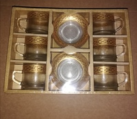 Used New cup and saucer set.      ^> in Dubai, UAE