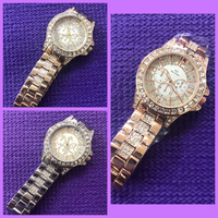 Used BS Women's Watch/ Gold-Silver-Rose Gold in Dubai, UAE