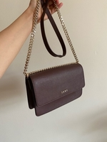 Used DKNY plum crossbody bag in Dubai, UAE