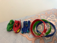 Used Pj masks bracelet and toy cars in Dubai, UAE
