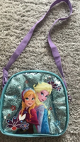 Used Lovely Sparkly Frozen Lunch bag  in Dubai, UAE