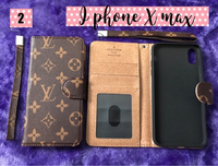 Used Iphone X max LV flip cover in Dubai, UAE