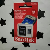 Used SanDisk SD Card 128GB NEW packed in Dubai, UAE