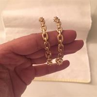 Authentic #Juicy Couture Large Earring. In Great Condition As New Worn Few Times Only.