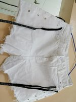 Used White bottom ladies shorts in Dubai, UAE