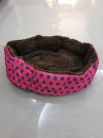 Used Pet bed new pink in Dubai, UAE