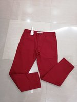 Used LACOSTE PANTS RED SIZE 44 in Dubai, UAE