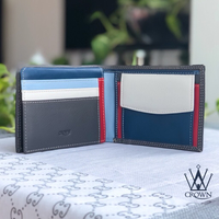 Used Gents leather wallet - Grey in Dubai, UAE