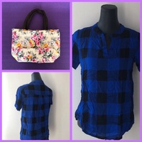 Used Blouse/M and Lunch Bag+🎁 in Dubai, UAE