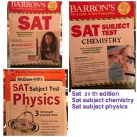 Used Sat 27 edition physics subject chemistry in Dubai, UAE