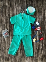 Used Costume doctor/surgeon size 4-5 years   in Dubai, UAE