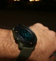 3D Army Green Health & Fitness Watch