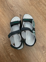 Used Sandals shoes for boys, size 36, new  in Dubai, UAE