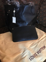 Supreme Louis Vuitton bag with pouch