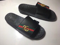 Used Gucci slippers size 43, new  in Dubai, UAE