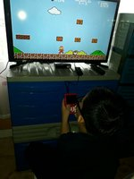 Used 400 in 1 gaming pad with tv output in Dubai, UAE