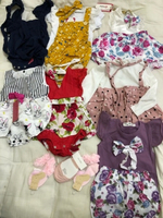 Used Kids dress and sock 7dress socks 3 in Dubai, UAE